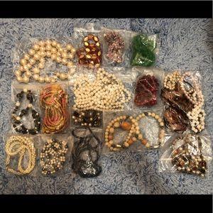 Vintage Necklace Lot Bundle Grab Bag